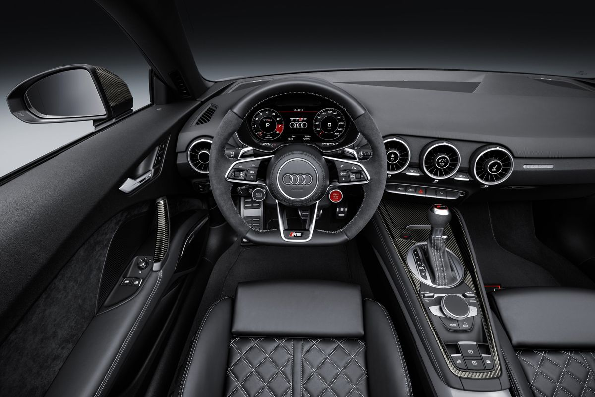 Turn Up The Power With The New Audi Tt Rs In 2020 Audi Tt Rs Audi Tt Audi Tt Interior