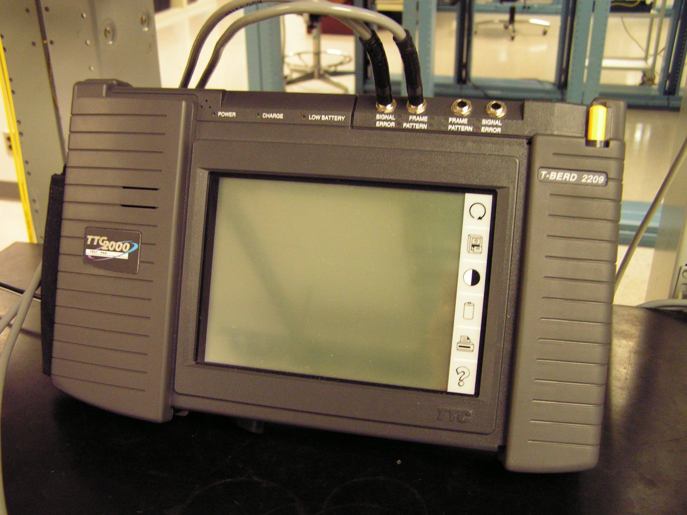 T-Berd 2209 Test Set used to test DS1 & DS3 circuits (circa 2004).
