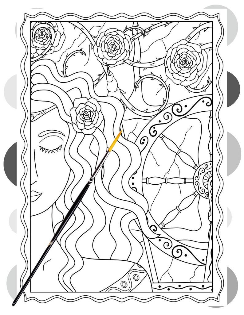 Pin On Adult Coloring Book Pages
