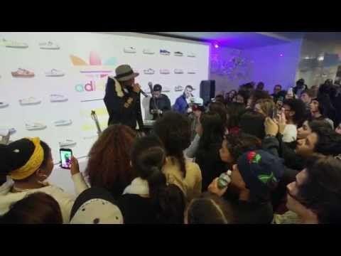 Adidas Originals Pharrell Williams Superstar experiencia NYC