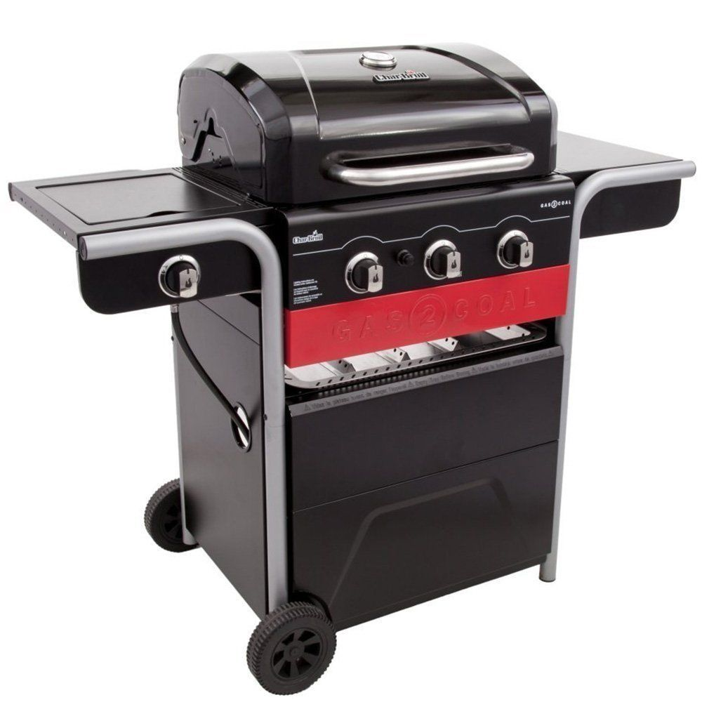 Char Broil Cb Charcoal Grey Gas Hybrid Grill Grills Smokers In 2019 Gas Charcoal Grill Coal Grill Best Charcoal Grill