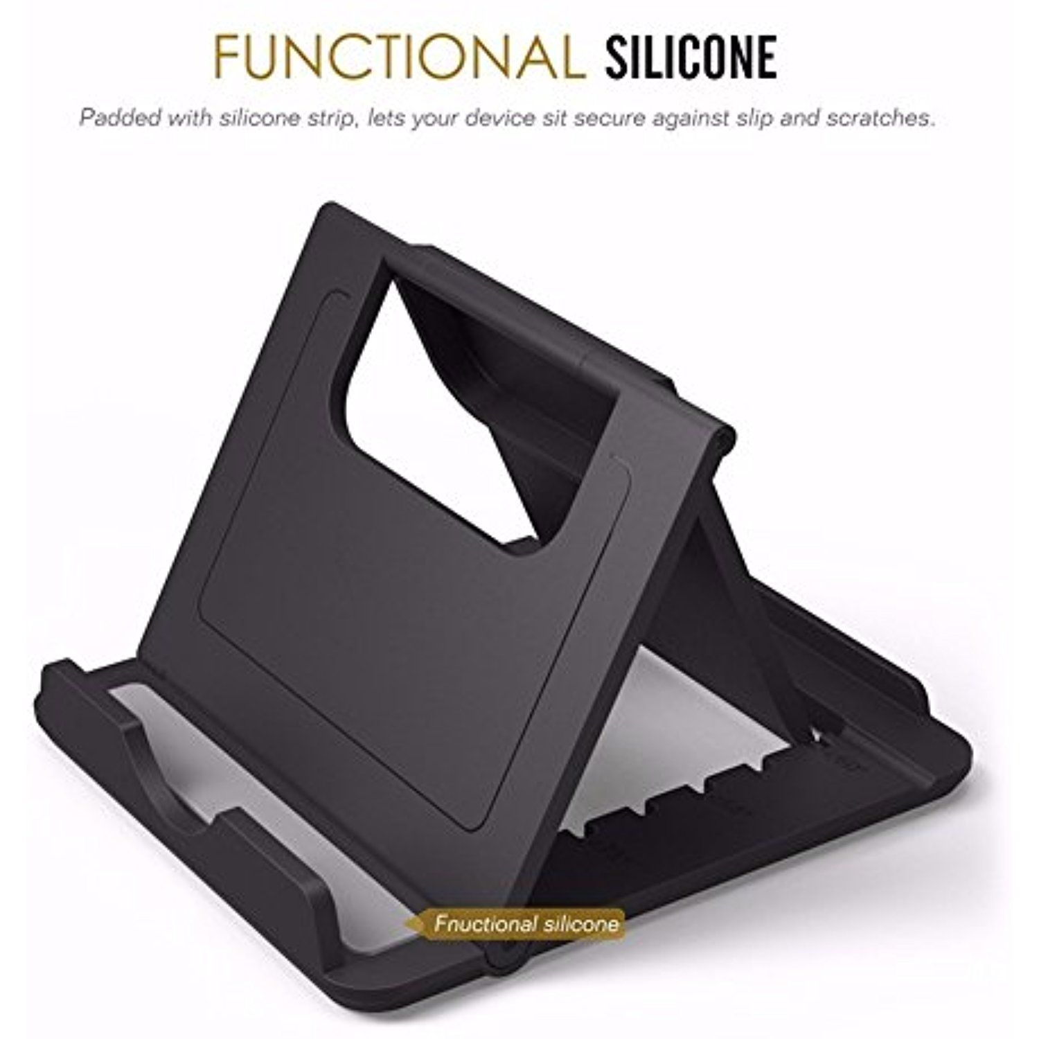 Black Foldable Desk Phone Holder for iPhone 7 Plus iPad Xiaomi redmi 3 Samsung Mobile Holder Desktop Stands Hands Free GPS Racks Read more reviews of the