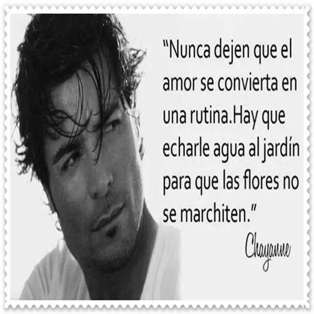 Chayanne 3 Eric Bernal Canciones De Chayanne Chayanne Frases De Cantantes