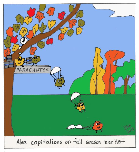 """Autumn Leaves"""" by Carl D'Agostino 