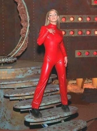 i wanted that red jumpsuit so bad when i was little haha britney spears - Britney Spears Red Jumpsuit Halloween Costume