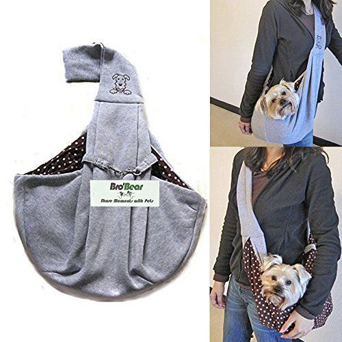 Small Puppy Dog Sling Carrier Bag Travel Tote Puppy Pouch Backpack