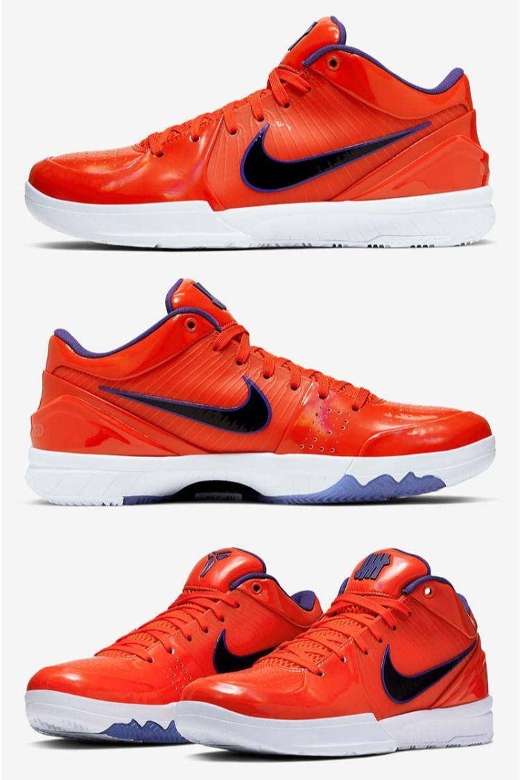 Men's UNDEFEATED x Nike Zoom Kobe 4