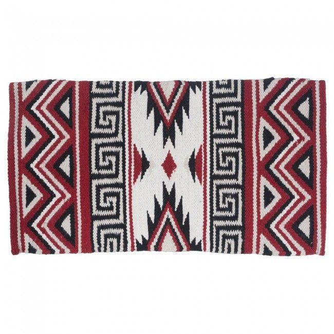 Mayan Navajo Wool Saddle Blanket