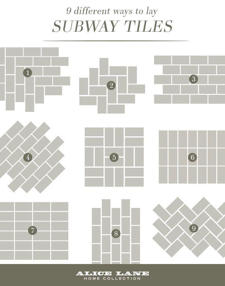 9 Different Ways To Lay Subway Tiles Sebring Services Backsplash