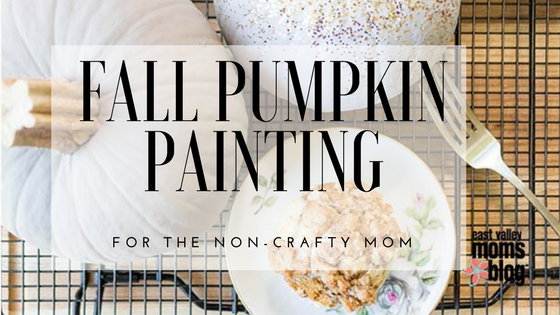 Easy Pumpkin Craft for the NonCrafty Mom East Valley