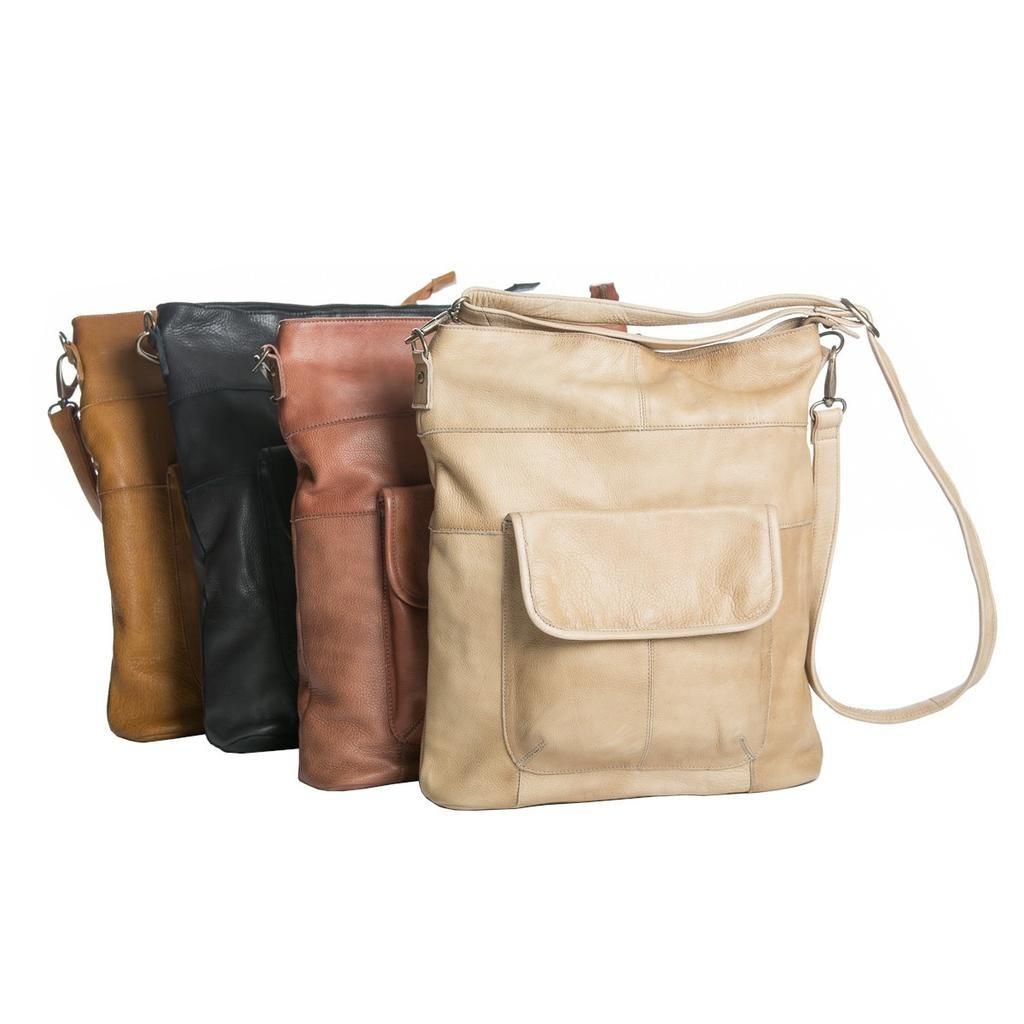 Rugged Hide Rh 10486 Madrid Cross Body Leather Bag