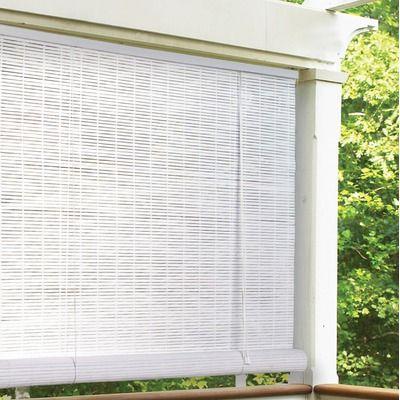 Radiance Oval Roller Blind Patio Blinds Outdoor Blinds Living Room Blinds