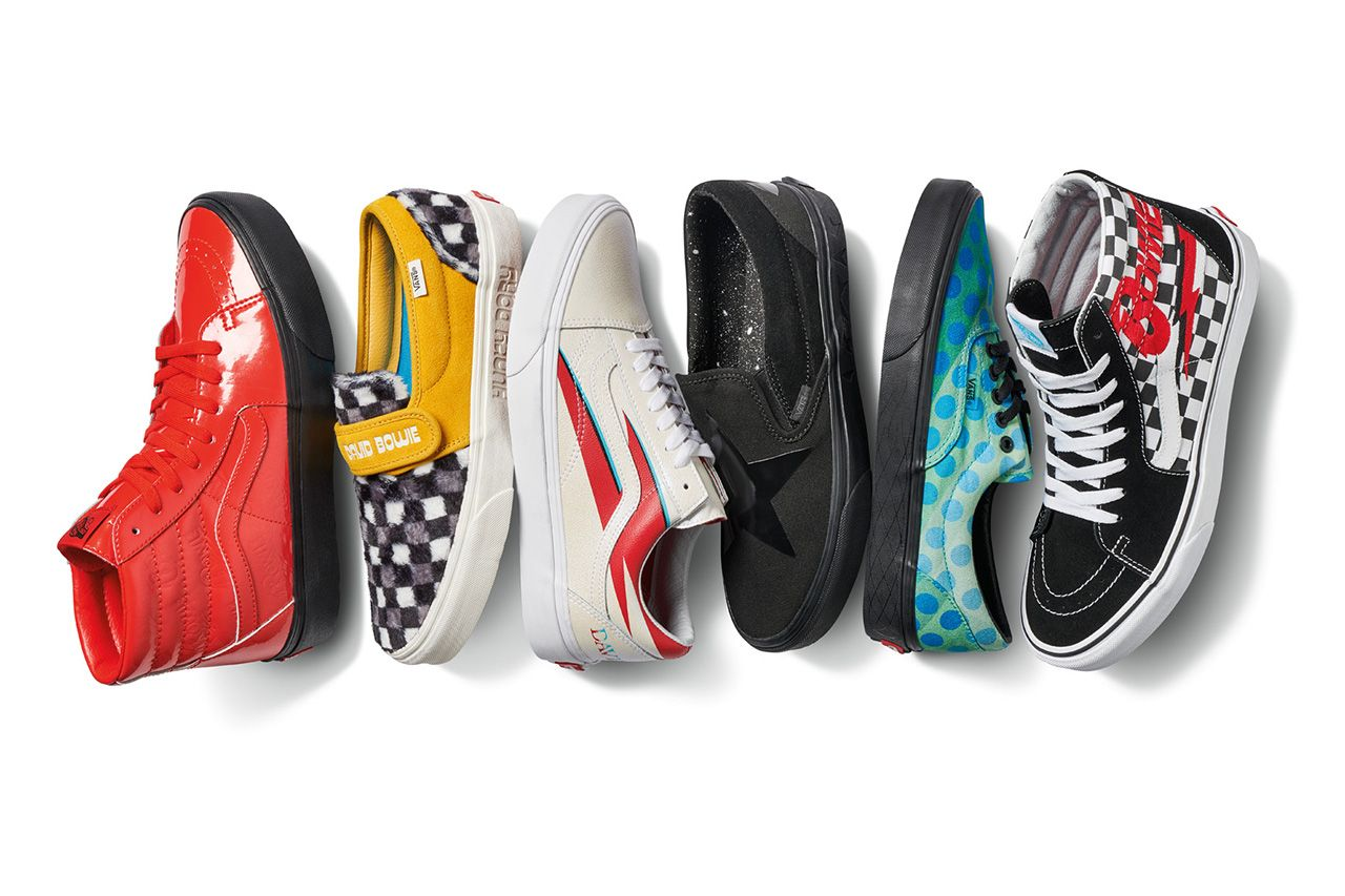 A Full Look at the David Bowie x Vans Collaboration
