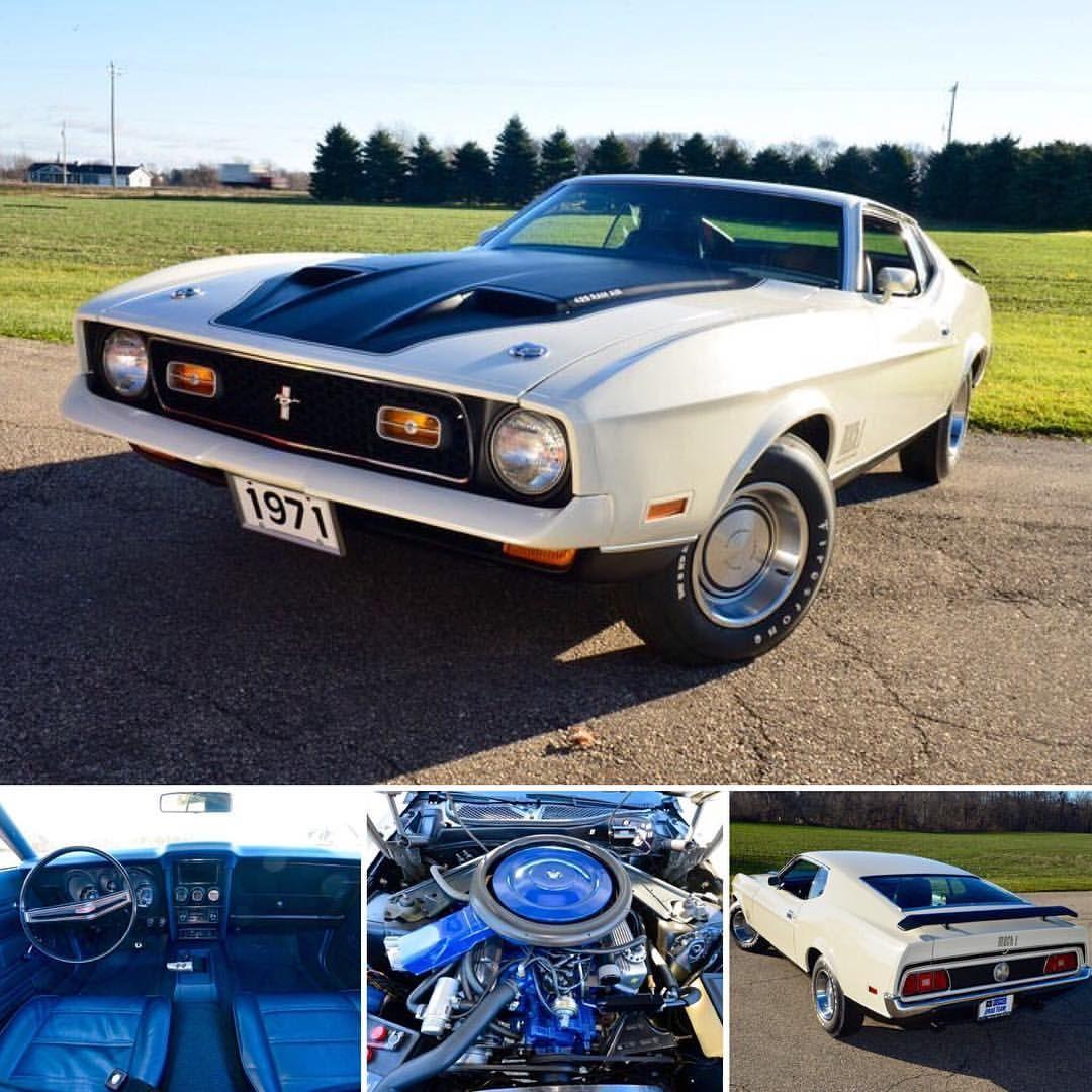1971 Ford Mustang Mach 1 Scj Mustang Pony Car Mustang Mach 1