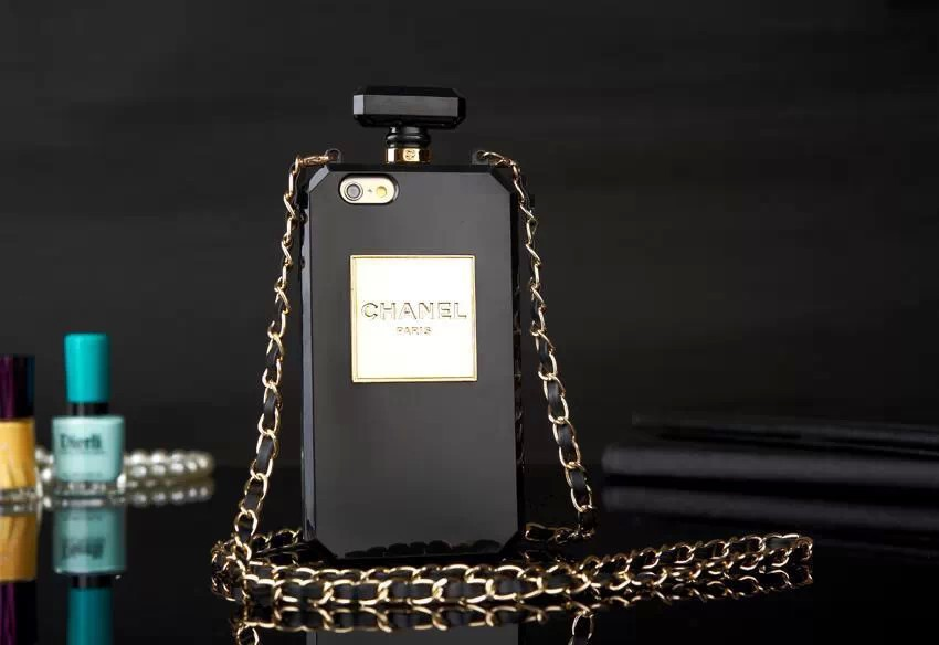 best website 60f5b 81447 Chanel No.5 iPhone 6 Perfume Bottle Case Black Free Shipping ...