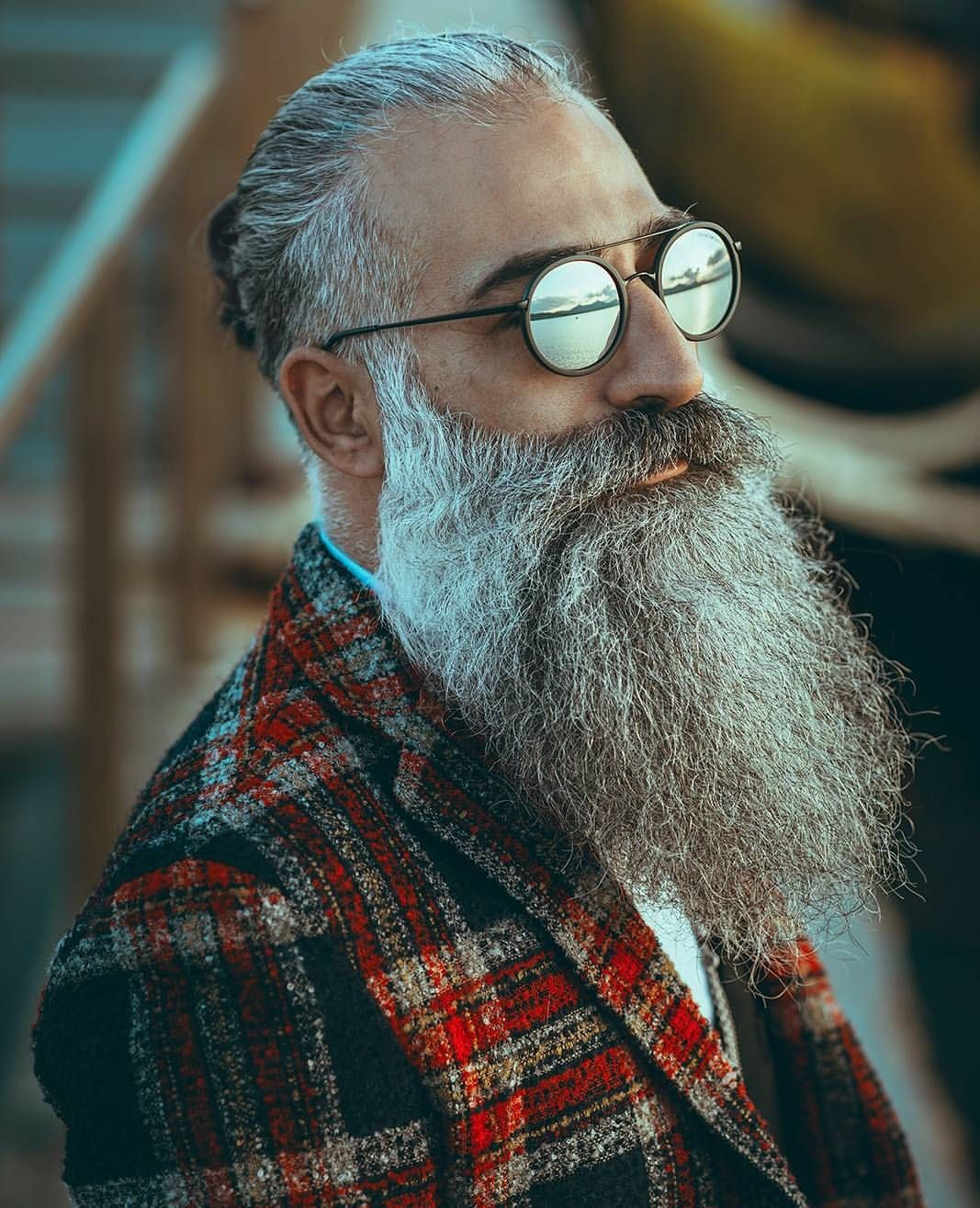 Pin on Beards and glasses