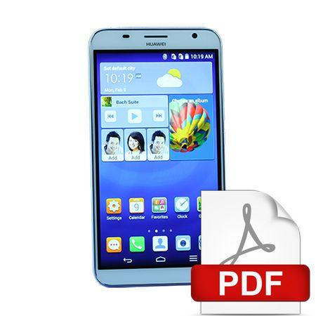 Huawei Ascend Survey Plus #Free Teardown Sample Reports Free