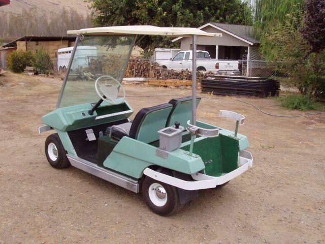 Cushman Gc 400 Vintage Golf Golf Carts Golf