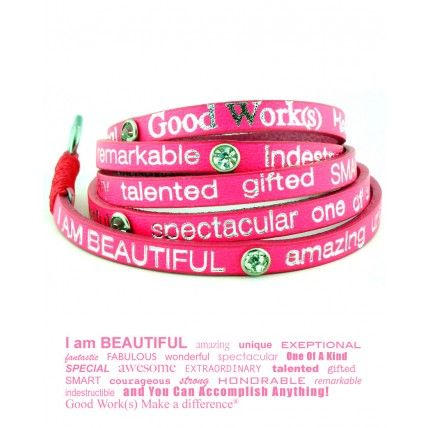 """I Am Beautiful"" Bracelet"