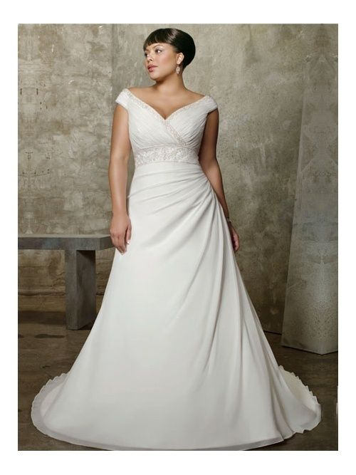 Wedding Dress Suits Large Bust