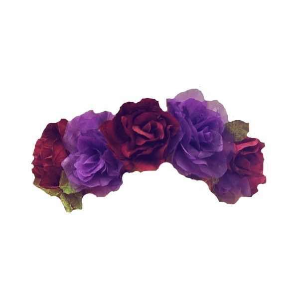 Transparents Liked On Polyvore Featuring Accessories Hair Accessories Flower Crowns Fillers Flowers Fl Flower Crown Flower Hair Accessories Crown Images