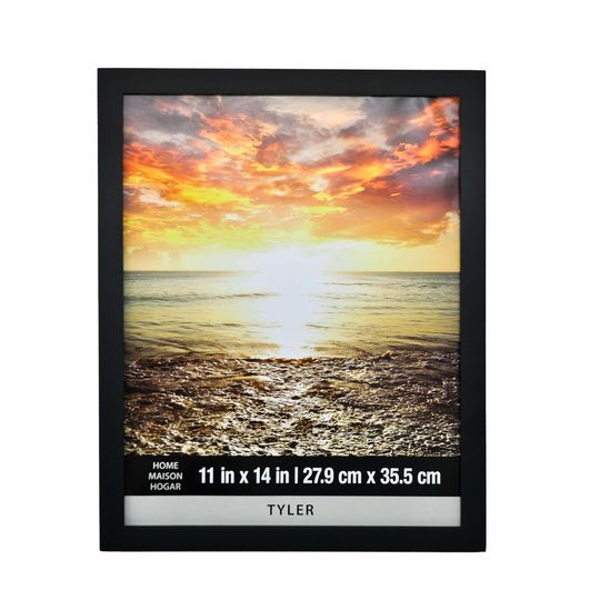 Black Tyler Frame Home Collection By Studio Decor Picture Frame Sizes Large Poster Frames Black Decor