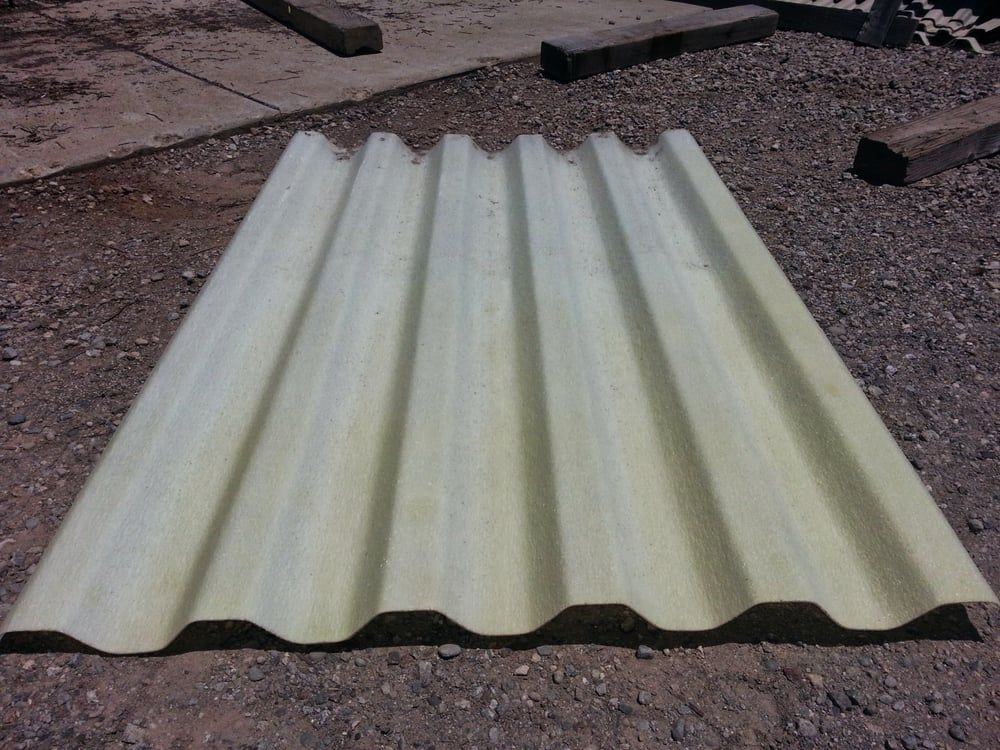 Frp Fiberglass Roof Or Wall Panel 12 Oz In Trans White Yelp Fibreglass Roof Wall Paneling Fiberglass
