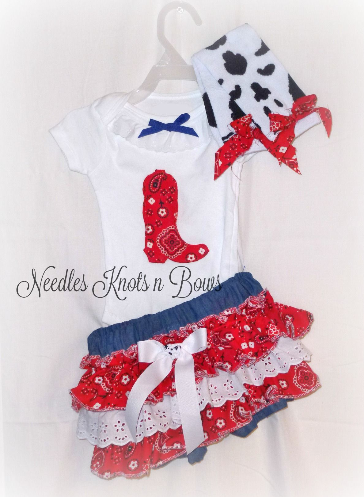 24f18d1e Baby+Girls+2+piece+country+western+Pageant+outfit.++Cowgirl+outfit+ ...