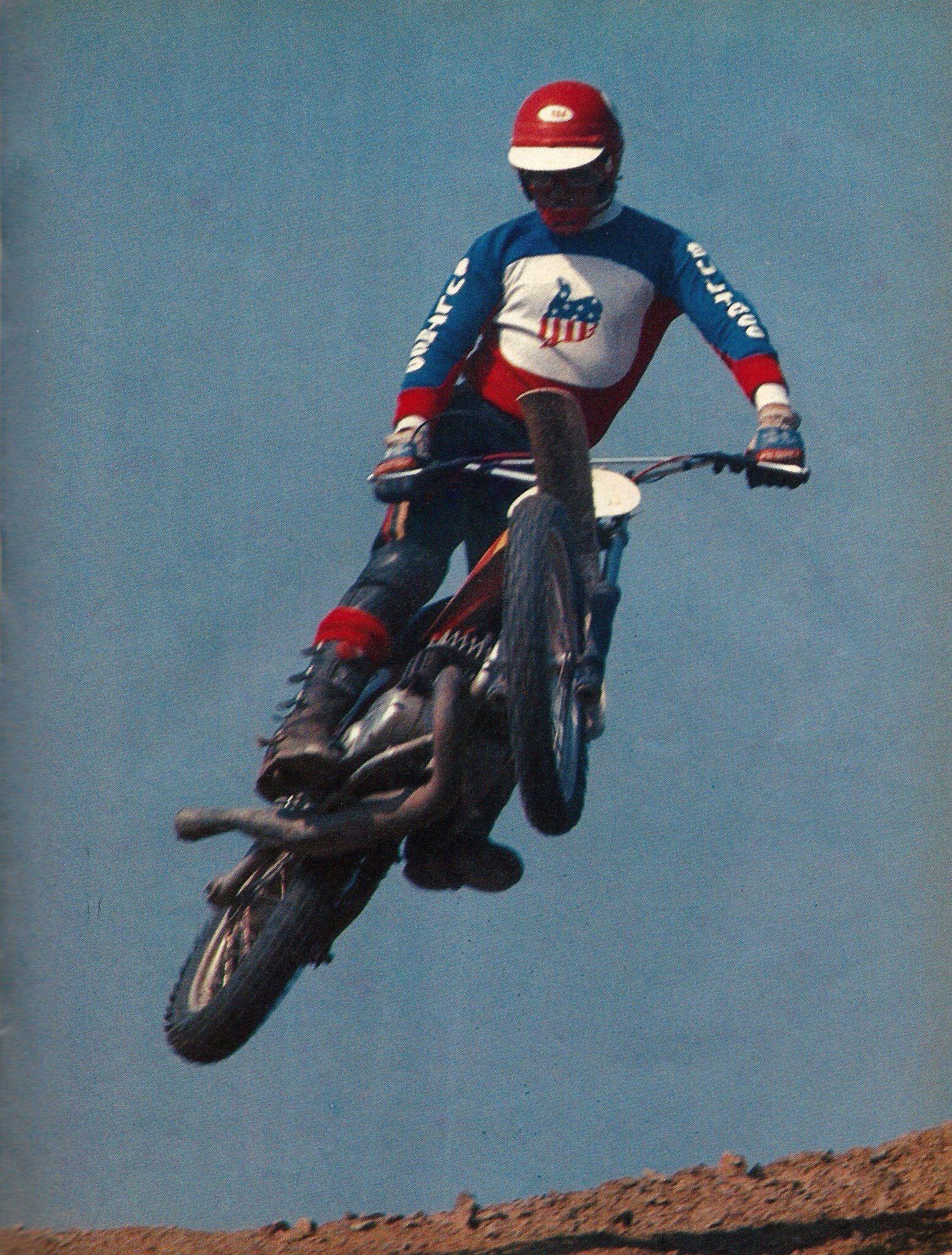 Motocross Jim Pomeroy Bultaco Dirt Bike Legends Pinterest