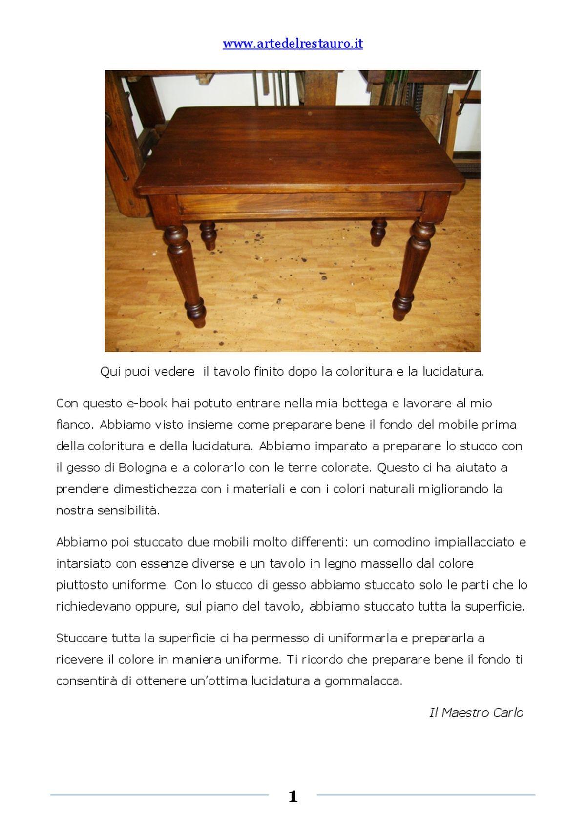 Verniciare Un Tavolo Di Legno sverniciare un mobile di legno