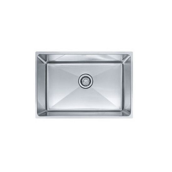 Professional Laundry Sink Single Basin Stainless Steel Undermo