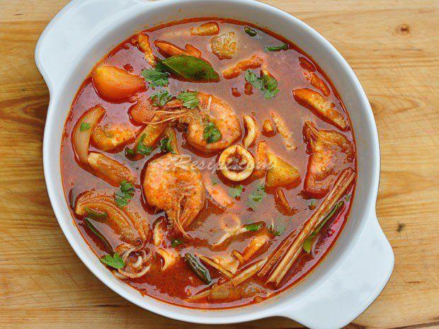 Resepi Tomyam Thai Istimewa Resep Resep Masakan Asia Resep Makanan