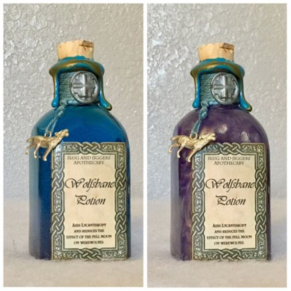 Wolfsbane Potion A Color Change Harry Potter Decoration Or