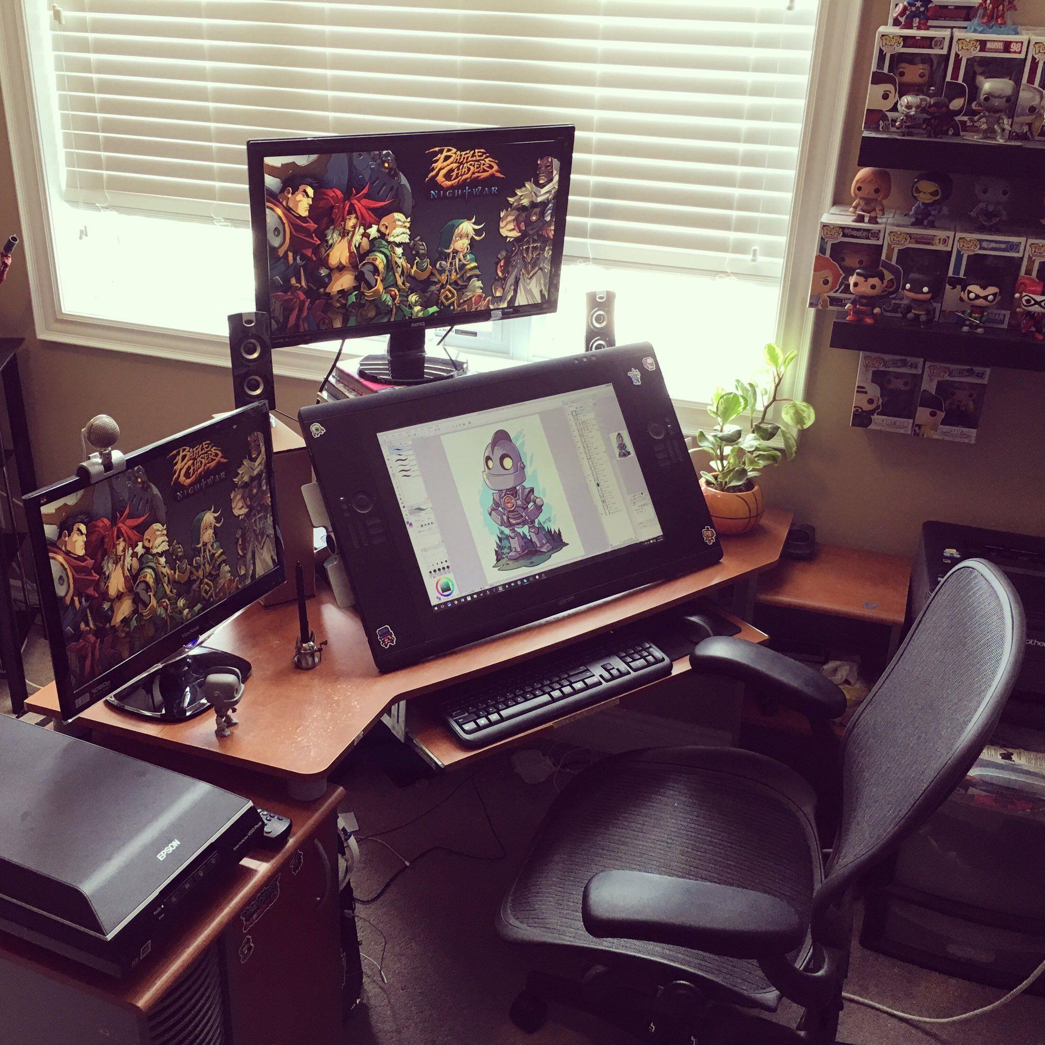 Gaming Desks Gaming Desks Workspace Design Artist