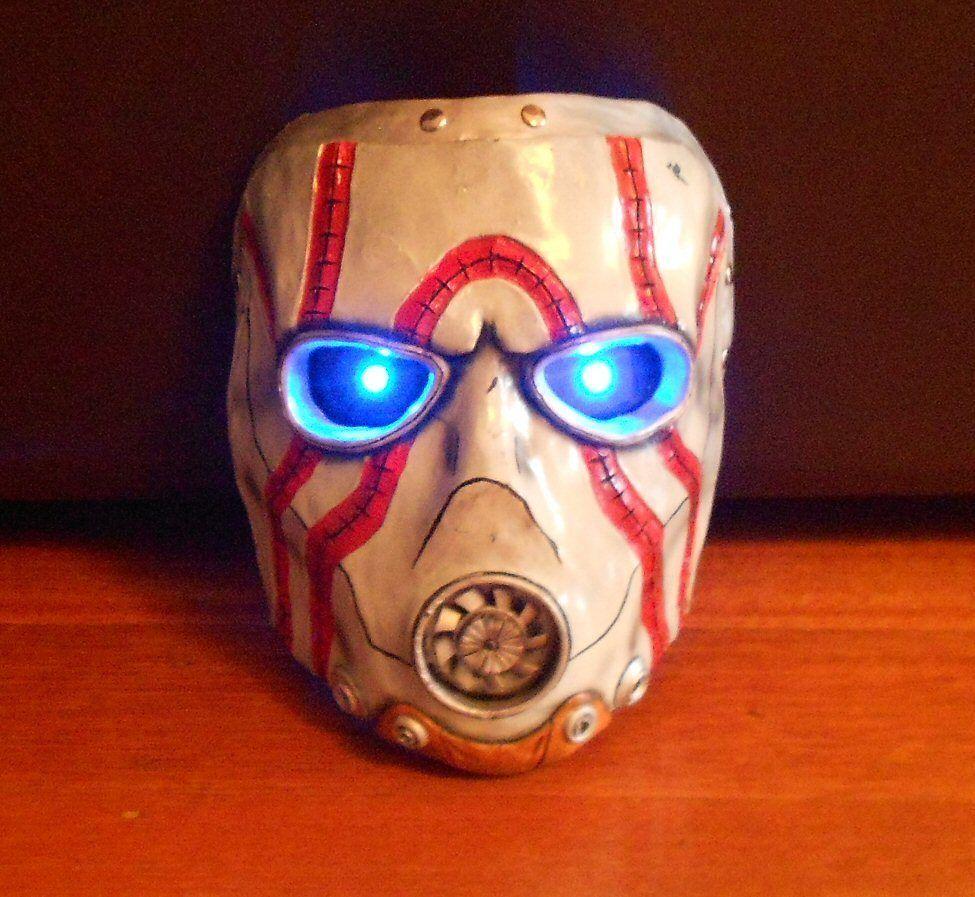 #Borderlands Mask via Reddit user  theboywhoscrolled