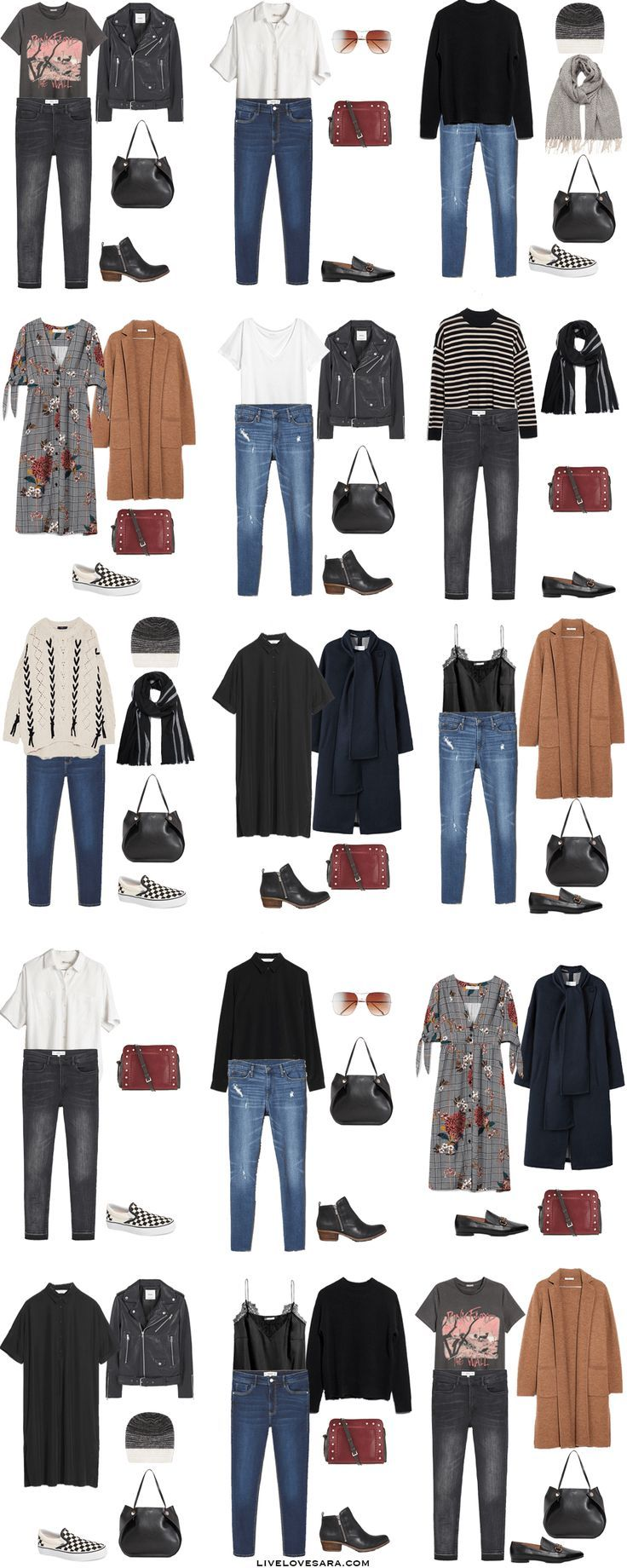 What To Pack For Edinburgh, Scotland Outfit Options
