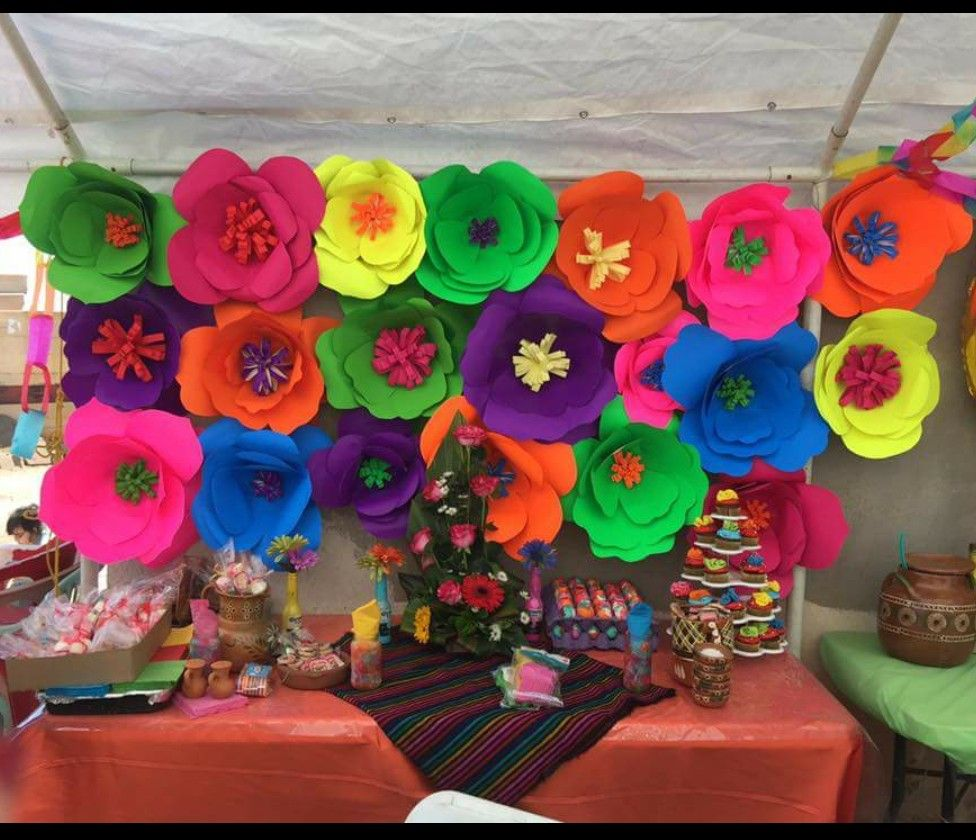 Mexican theme candy table