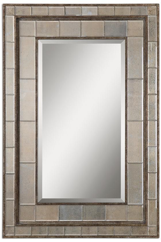 Almont Antiqued Mirror Wall Mirrors Large Wall Mirrors