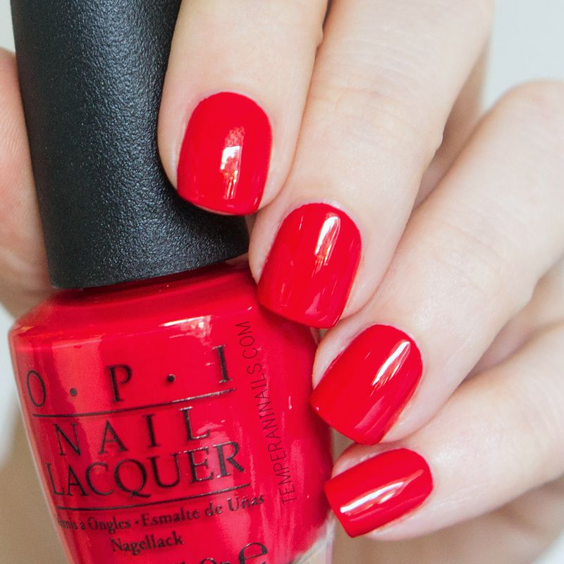 OPI - Coca-cola Red #OPIcokestyle | Nails | Pinterest | Esmalte