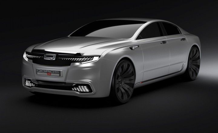 Qoros Sedan Concept Cars Pinterest Sedans