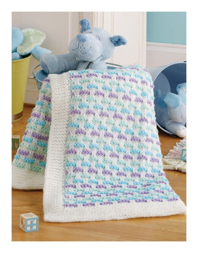 Little Lullabies - Special blankets to knit for babies--choose the pattern you admire most; then relax and enjoy creating the perfect gift. You'll be knitting much more than just a pretty blanket. That's because Melissa Leapman's creations are as practical as they are beautiful. You can be sure each of these five designs will be a warm, long-wearing necessity for that precious baby!  Little Lullabies (Leisure Arts #4528) features 5 knit baby blankets, all for Easy skill level and using…