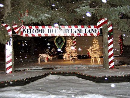 Flock to Candy Cane Lane - the traditional west Edmonton Christmas