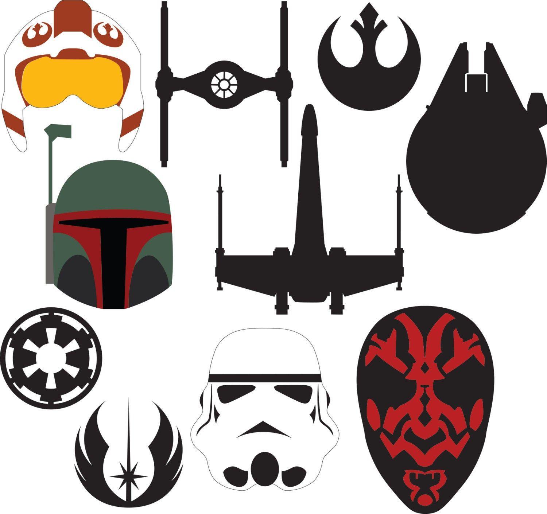 Found on Bing from Star wars stencil, Star