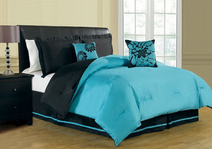 Icon Of Turquoise Comforter Sets