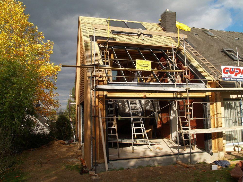 Les 4 éléments dans une extension de maison    architectureverte - installation d une climatisation maison