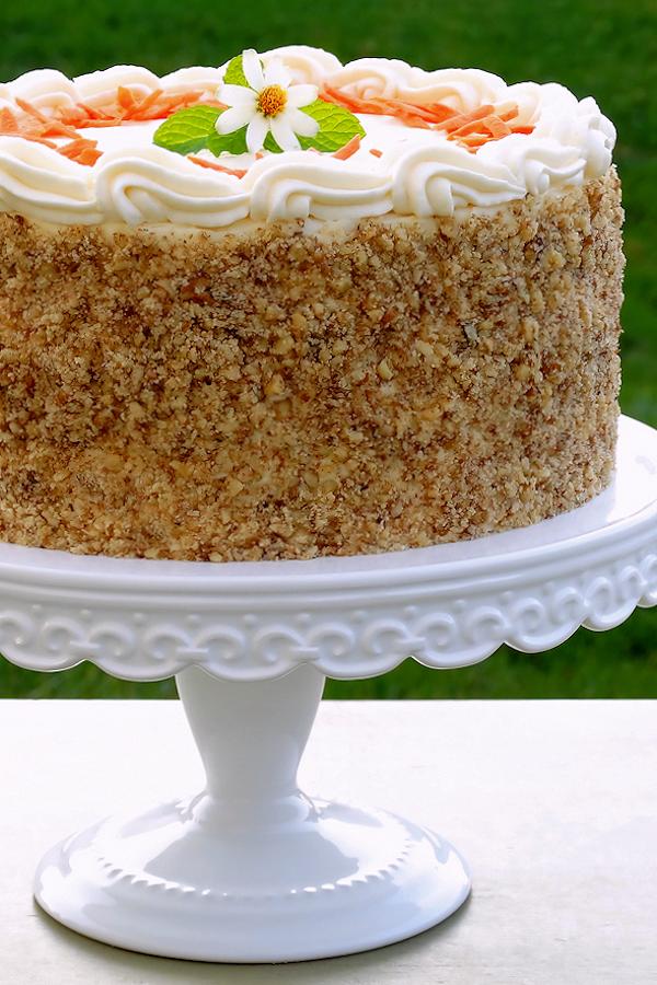 Carrot Cake - Best Ever Bakery-Style ~ Moist and tender as ...