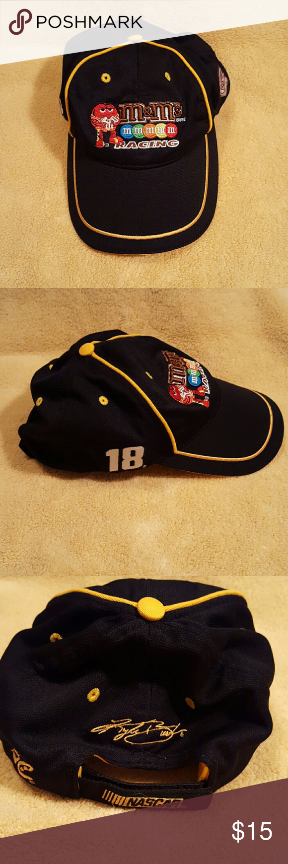 95d296bb Nascar/M&M's Baseball Cap Unisex Nascar/M&M's Baseball Cap from Chase  Authentics. One size fits most. Gently worn and in great condition.