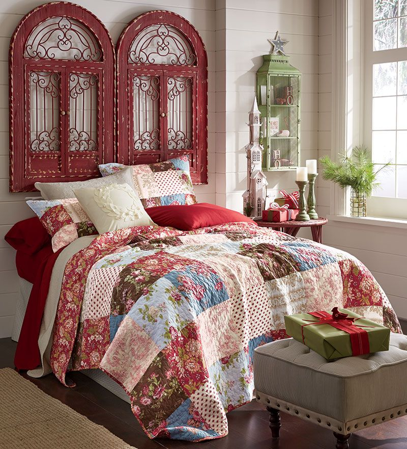 40 Guest Bedroom Ideas: Top 40 Christmas Bedroom Decorations