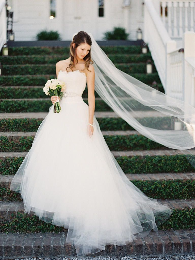 Big pretty wedding dresses  Princess Wedding Dresses Youull Want to Live In  Tulle wedding gown