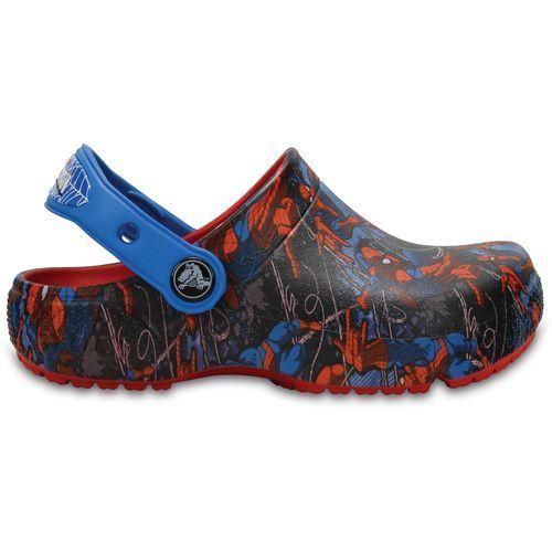 a43a057984d9 Crocs Boys  Fun Lab Spider-Man Clogs (Black Blue